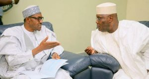 Buhari with Atiku