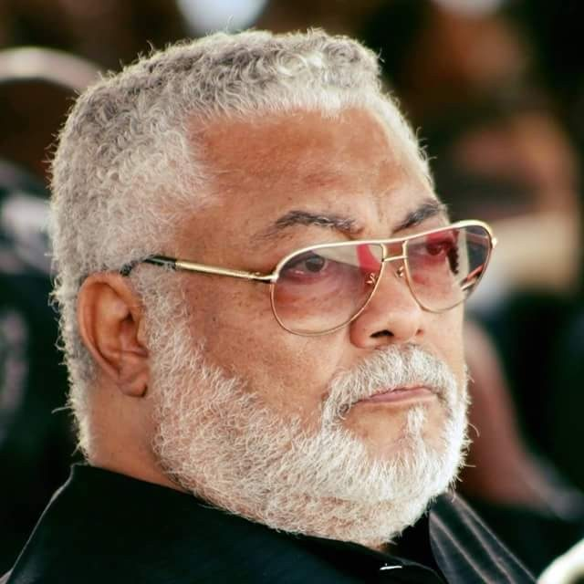 Jerry John Rawlings, former Head of State and President of Ghana